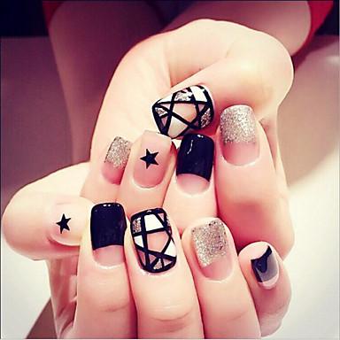 24 szt manicure trzymać kawałek gotowego produktu sztuczne paznokcie manicure Narzędzia Oblubienicy paznokci paznokci