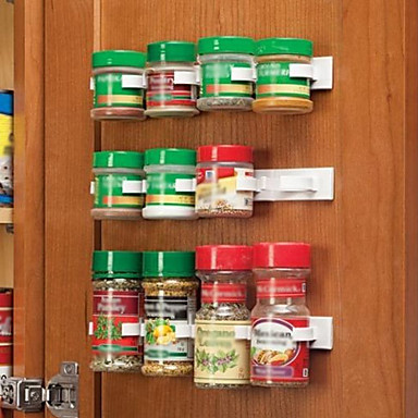Food & Kitchen Storage Clip N Store Kitchen Spice Organizer Storage Rack Kitchen Seasoning gb