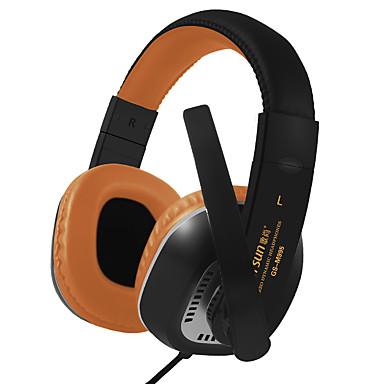 محايد المنتج GS-M995 سماعات (الرأس)Forمشغل وسائل الاعلام / لوحي / الهاتف المحمول / الكمبيوترWithمع ميكريفون / DJ / التحكم في ارتفاع الصوت