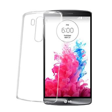 Voor LG hoesje Transparant hoesje Achterkantje hoesje Effen kleur Zacht TPU LG LG G5 / LG G4 / LG G3 / LG G10