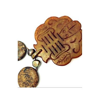 Damskie Naszyjniki z wisiorkami Toy Shape Syntetyczne kamienie szlachetne Perłowy Modny euroamerykańskiej Biżuteria Na Impreza Codzienny