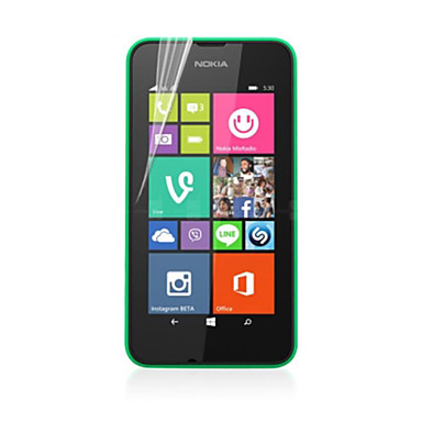 mare transparență ecran HD LCD protector pentru Nokia 530 (5 piese)