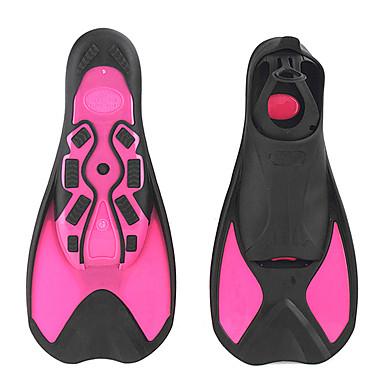 Yüzme Paletleri / Dalış Fins Ayarlanabilir Askı, Kısa Bıçak, Ayarlanabilir Ölçü Şnorkelcilik, Dalış, Yüzme Plastik - için Çocuklar Koyu