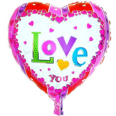 μπαλόνι ηλίου χονδρικής αλουμινίου μπαλόνι foil διακόσμηση γάμου εραστή ----- cy φιλμ αλουμινίου σε σχήμα καρδιάς αγάπη σας