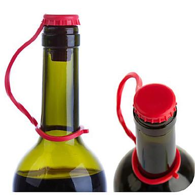 Πώματα κρασιού Σιλικόνη, Κρασί Αξεσουάρ Υψηλή ποιότητα ΔημιουργικόςforBarware 8.5*4.5*2.5 0.015