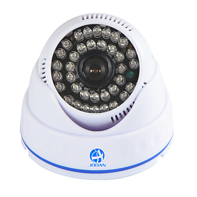 Jooan® 700tvl nadzór bezpieczeństwa kamera wideo kamera kopułkowa monitor wideo 36 ir diody nocna wizja dom w domu