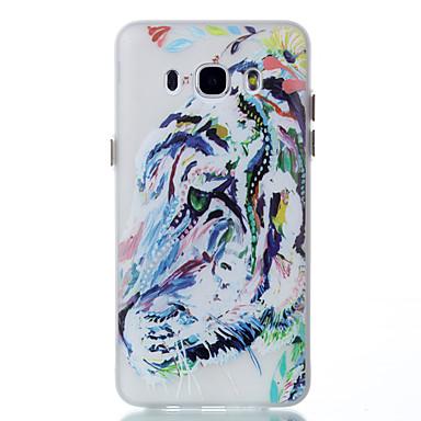Για Θήκες Καλύμματα Λάμπει στο σκοτάδι Με σχέδια Πίσω Κάλυμμα tok Ζώο Μαλακή TPU για Samsung Galaxy J5 (2016) J3 J3 (2016)