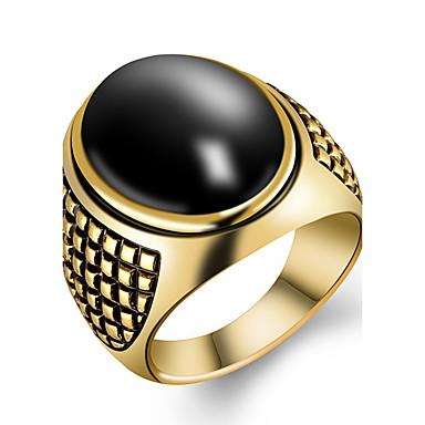 للرجال خاتم موضة والمجوهرات راتينج سبيكة مجوهرات من أجل حزب يوميا فضفاض الرياضة