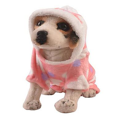 Câine Rochii Îmbrăcăminte Câini Draguț Casul/Zilnic Inimă Roz Costume Pentru animale de companie