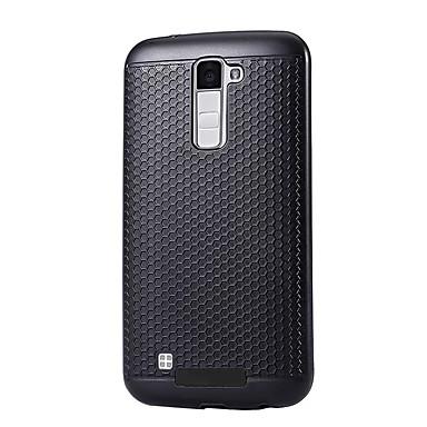 Pouzdro Uyumluluk LG K8 LG LG K5 LG K10 LG G5 Toz Geçirmez Arka Kapak Tek Renk Sert PC için LG X Power LG V20