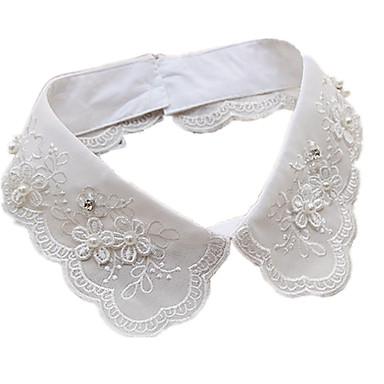 Dame Guler Perle Dantelă Diamante Artificiale Design Basic Bijuterii Pentru Zilnic Casual