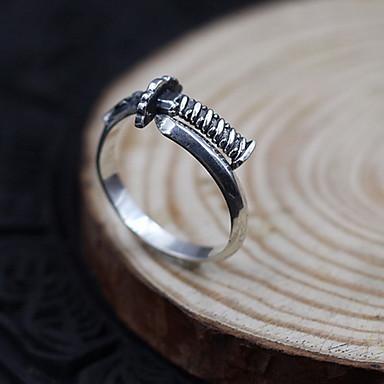 Ανδρικά Γυναικεία Δαχτυλίδι Κοσμήματα Προσαρμόσιμη Ανοικτό Εξατομικευόμενο κοστούμι κοστουμιών Ασήμι Στερλίνας Κοσμήματα Για Καθημερινά