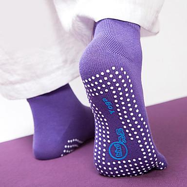 Γυναικεία Κάλτσες με Δάχτυλα / Αντιολισθητικές κάλτσες - Βυσσινί, Ροδοκόκκινο, Μπλε Αθλητισμός Κάλτσες Γιόγκα Ρούχα Γυμναστικής