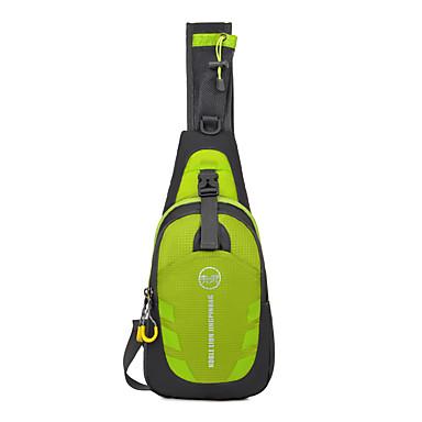 10LOmuz çantası Göğüs Çantası için Kamp & Yürüyüş Bisiklete biniciliği / Bisiklet Seyahat Koşma Jogging Plecaki sportowe Su Geçirmez