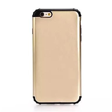 Για Ανθεκτική σε πτώσεις tok Πίσω Κάλυμμα tok Μονόχρωμη Σκληρή PC για AppleiPhone 7 Plus iPhone 7 iPhone 6s Plus/6 Plus iPhone 6s/6