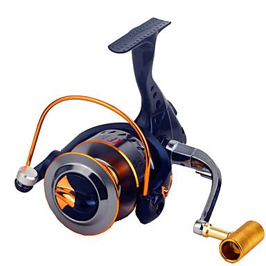 Kołowrotki Kołowrotki spinningowe 2.6:1 Przełożenie+16.0 Łożyska kulkowe Ręcznie Orientacja wymienny General Fishing - XF3000