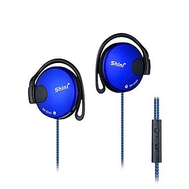 Shini słuchawki SN-q140 3.5mm Słuchawki z nakładkami na uszy słuchawki do odtwarzacza mp3 komputera mobilnego telefonicznej słuchawki