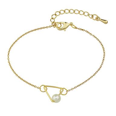 Bransoletki Bransoletki i łańcuszki na rękę Perłowy Stop Others Przyjaźń Biżuteria Prezent Złoty,1szt