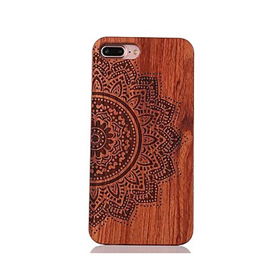 voordelige iPhone 5 hoesjes-hoesje Voor iPhone 7 / iPhone 7 Plus / iPhone 6s Plus iPhone 7 Plus / iPhone 7 / iPhone 6s Plus Schokbestendig / Reliëfopdruk / Patroon Achterkant Mandala Hard Puinen