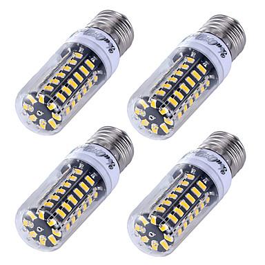 E26/E27 Becuri LED Corn T 56 led-uri SMD 5733 Decorativ Alb Cald Alb Rece 500lm 3000/6000K AC 220-240V