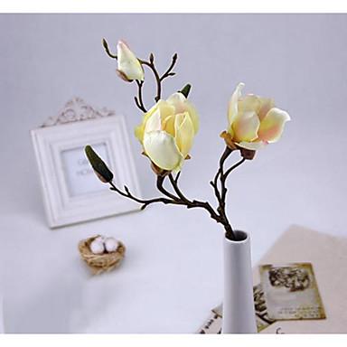 Sztuczne Kwiaty 1 Gałąź minimalistyczny styl Storczyki Bukiety na stół