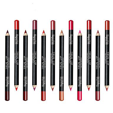 مخطط الشفاه قلم رصاص لمعان ملون تغطية يدوم طويلاً طبيعي يوميا