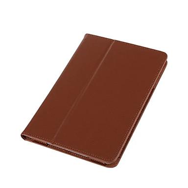 Pouzdro Uyumluluk Apple iPad Mini 4 iPad Mini 3/2/1 Satandlı Tam Kaplama Kılıf Tek Renk Sert PU Deri için iPad Mini 4 iPad Mini 3/2/1