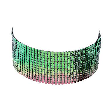 Pentru femei Coliere Choker - De Bază Auriu Argintiu Culori Asortate Coliere Pentru Casual