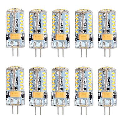 5W G4 LED Bi-Pin lamput T 57 SMD 3014 300 lm Lämmin valkoinen Kylmä valkoinen Himmennettävä AC 12 V 10 kpl