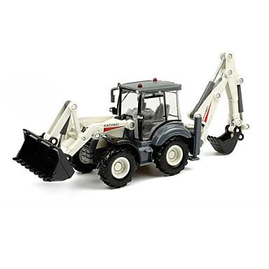 Vehicul de Construcție Încărcător cu Buldozer Toy Trucks & Vehicule de constructii Jucării pentru mașini 01:50 Retractabil Metalic