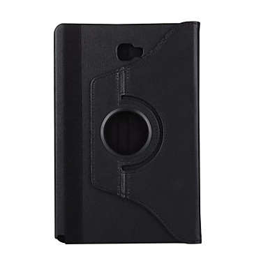 Pentru Cu Stand Auto Sleep / Wake Rotație 360 ° Maska Corp Plin Maska Culoare solida Greu PU piele pentru Samsung Tab A 10.1 (2016)
