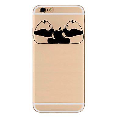 إلى نحيف جداً نموذج غطاء غطاء خلفي غطاء اللعب بشعار آبل ناعم TPU إلى Apple فون 7 زائد فون 7 iPhone 6s Plus/6 Plus iPhone 6s/6