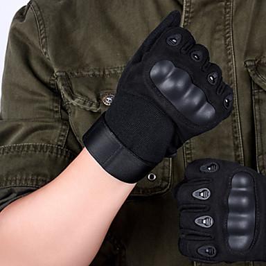 giyilebilir naylon siyah unisex avcılık eldiven
