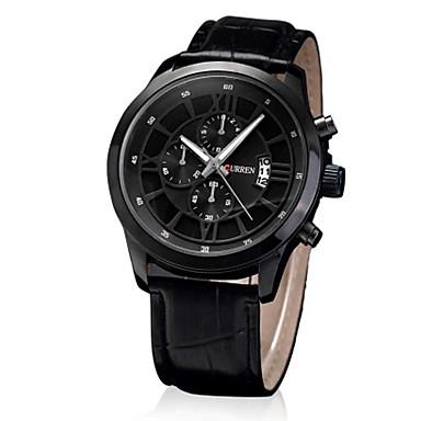 Bărbați Ceas Sport Ceas Elegant Ceas La Modă Ceas de Mână Quartz Piele Autentică Bandă Charm Casual Multicolor
