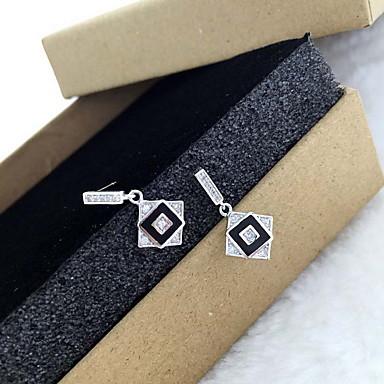 Naisten Pisarakorvakorut Korut minimalistisesta Muoti Sterling-hopea Korut Käyttötarkoitus Päivittäin Kausaliteetti
