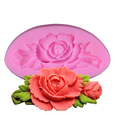 Forma do pieczenia Kwiat na ciasto na chleb Dla Cookie o cukierki Początkujący SilikonŚlub Urodziny Walentynki Święto Dziękczynienia DIY