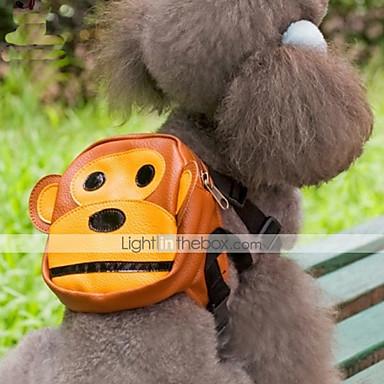 Hond rugzak Hondenkleding Cartoon Stof Kostuum Voor huisdieren Heren Dames Schattig