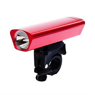 Przednia lampka rowerowa Kolarstwo Przysłonięcia AAA 3lm Lumenów Bateria Kolarstwo