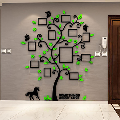 Botanical wall stickers 3d wall stickers decorative wall for Stickers 3d pared