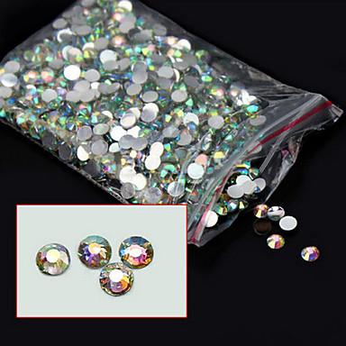 1000pcs Nail Art Decoration tekojalokivi Pearls meikki Kosmeettiset Nail Art Design
