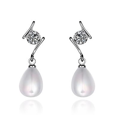 Pentru femei Cercei Picătură Imitație de Perle Perle Articole de ceramică Bijuterii Zilnic Casual