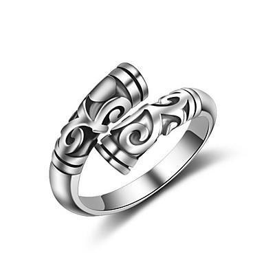 Δακτύλιος Δήλωσης / Δαχτυλίδι - Επάργυρο Ρυθμιζόμενο Για Πάρτι / Causal / Αθλητικά