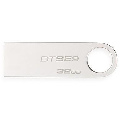 Kingston 32 GB USB hordozható tároló usb lemez USB 2.0 Fém