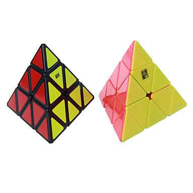 Rubikin kuutio YongJun pyraminx Tasainen nopeus Cube Rubikin kuutio Puzzle Cube Uusi vuosi Lasten päivä Lahja