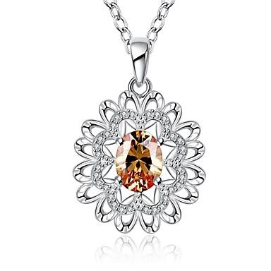 Γυναικεία Λουλούδι Geometric Μοναδικό Κρεμαστό Τεχνητό διαμάντι Φιλία Πανκ Λατρευτός Χιπ-Χοπ χαριτωμένο στυλ Euramerican Μοντέρνα