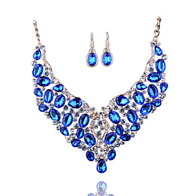 Κοσμήματα Κολιέ Cercei Γάμου Πάρτι Καθημερινά Causal Κράμα 1set Χρυσαφί Δώρα Γάμου