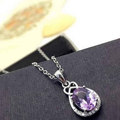Γυναικεία Μενταγιόν Κρεμαστό Κρύσταλλο Βασικό Love κοσμήματα πολυτελείας Λατρευτός Μοντέρνα Βυσσινί Κοσμήματα Για Καθημερινά Causal 1pc