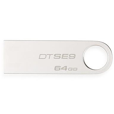 Kingston 64GB dtse9h usb 2.0 flash meghajtó digitális DATATRAVELER fém