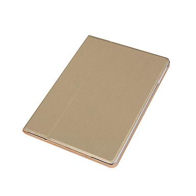 Için Satandlı Pouzdro Tam Kaplama Pouzdro Solid Renkli Sert PU Deri için Apple iPad Air 2 iPad Air