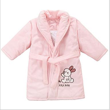 Świeży styl Bath Robe,Stały Najwyższa jakość 100% Coral Fleece Ręcznik